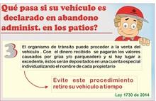 Qué pasa si usted no retira su vehículo antes de un año 3