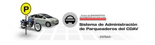 Sistema de administración de parqueaderos