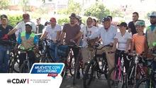 Inauguración bici ruta2