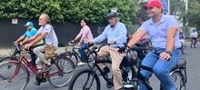 Inauguración Bici ruta la 70