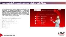 Nueva plataforma web del CDAV
